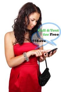 Send free calls and Texts.