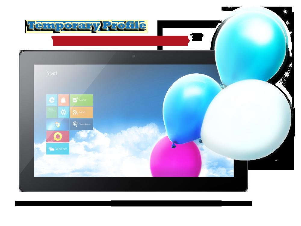 Windows 8 Temporary profile fix
